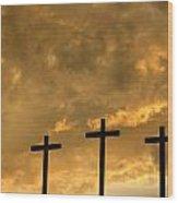 Easter Reminder Wood Print