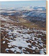 Eastern Cairngorms Wood Print