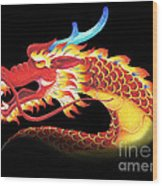 Eastern Dragon Wood Print