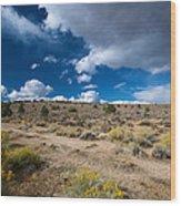 Eastern Sierras 10 Wood Print
