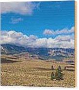 Eastern Sierras 25 Pano Wood Print