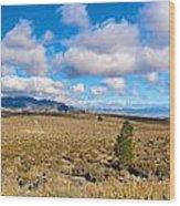 Eastern Sierras 29 Pano Wood Print