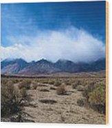Eastern Sierras 3 Wood Print