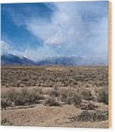 Eastern Sierras 8 Wood Print