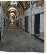 Eastern State Penitentiary 1 Wood Print