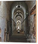 Eastern State Penitentiary 13 Wood Print