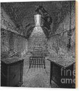 Eastern State Penitentiary Bw Wood Print