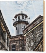 Eastern State Penitentiary Guard Tower Wood Print