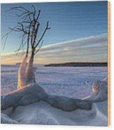 Eastern Wind Wood Print
