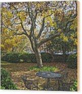 Easton Garden Wood Print