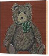 Easton's Teddy Wood Print