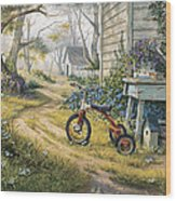 Easy Rider Wood Print by Michael Humphries