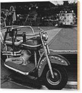 Easy Riders Wood Print
