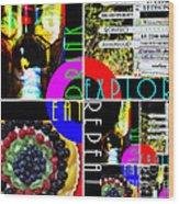 Eat Drink Explore Repeat 20140713 Horizontal Wood Print