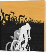 Eat Sleep Ride Repeat Wood Print
