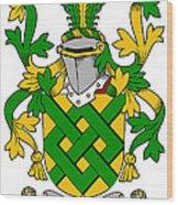 Eaton Coat Of Arms Irish Wood Print