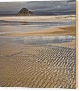 Ebb Tide Wood Print