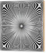 Ebony Blossom Wood Print