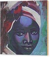 Ebony Women Wood Print