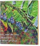 Ecclesiastes 9 1 Wood Print