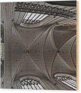Ecclesiastical Ceiling No. 3 Wood Print