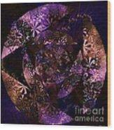 Echoes Through The Night Veil  Wood Print