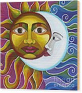 Eclipse Wood Print