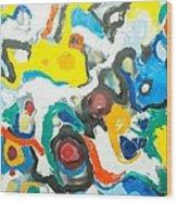 Ecstasy 2 Wood Print