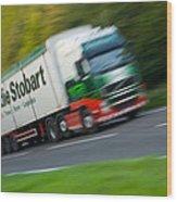Eddie Stobart Lorry Wood Print