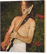 Eddie Van Halen Wood Print