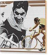 Eddy Merckx Wood Print