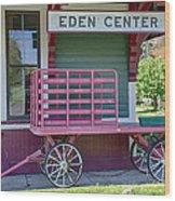 Eden Center Depot 1943 Wood Print
