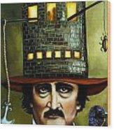 Edgar Allan Poe Edit 1 Wood Print