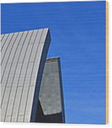 Edge Of Heaven - Architectural Photography By Sharon Cummings Wood Print