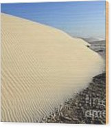 Edge Of The Dune Brazil Wood Print