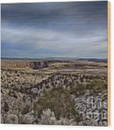 Edges Of The Grand Canyon Wood Print
