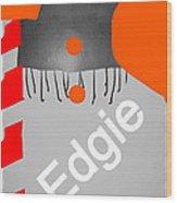 Edgie#3 Wood Print