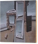 Edificios No.4 Wood Print