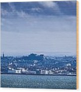 Edinburgh Castl Wood Print