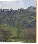Edinburgh Castle - Scotland  Wood Print
