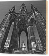 Edinburgh's Scott Monument Wood Print