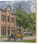 Edison Model T Ford Wood Print