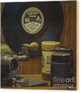 Edison Record And Equipment Wood Print