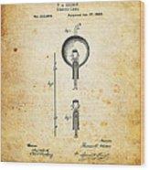 Edison's Patent Wood Print by Ricky Barnard