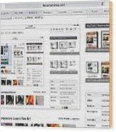 Visitors Hi Edit Keyword Search Untitled Wood Print