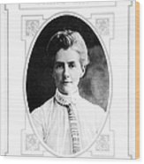 Edith Cavell (1865-1915) Wood Print