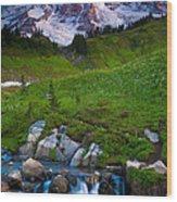 Edith Creek Wood Print