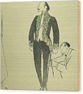 Edmond Rostand (1868-1918) Wood Print