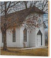 Edmonds Chapel 1891 Wood Print