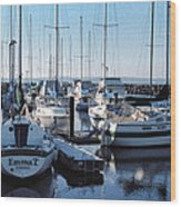 Edmonds Yacht Club Wood Print